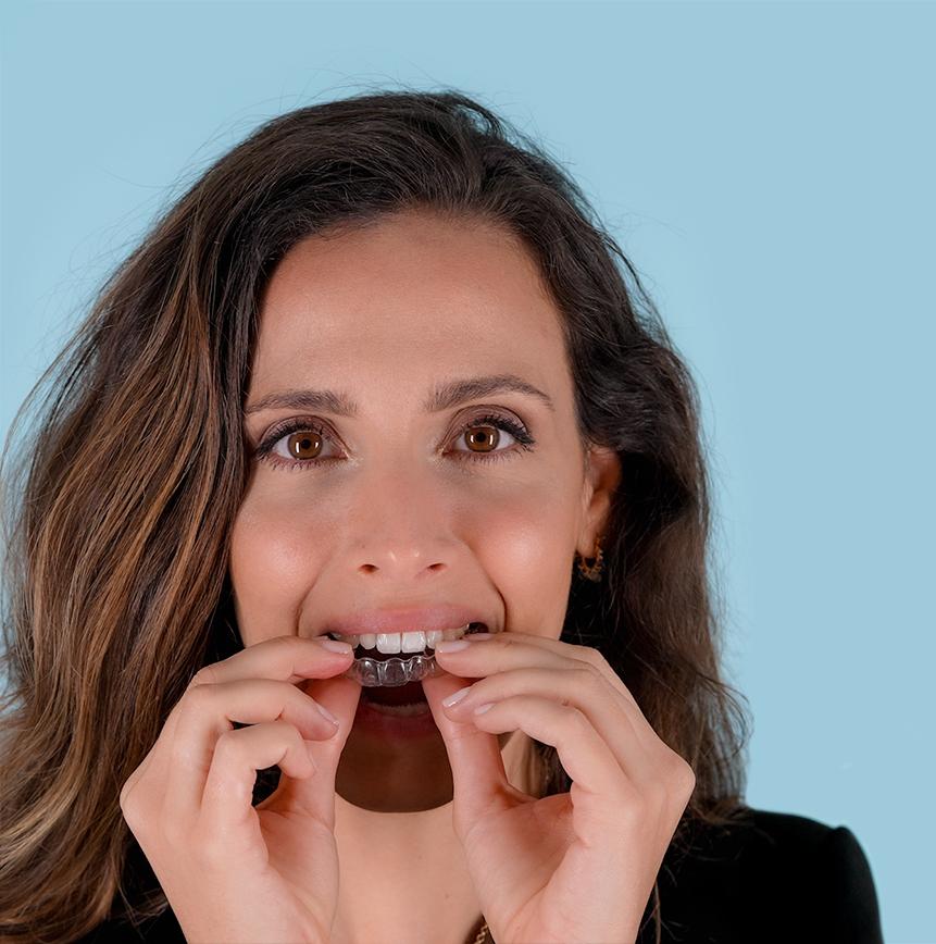 Ortodoncia invisible Instituto Odontológico Oliver
